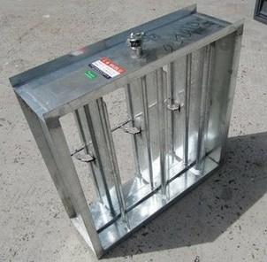 方型手动风量调节阀_净化设备